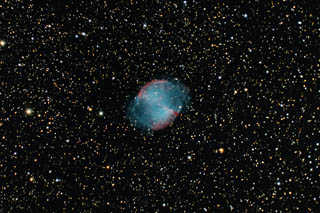 SUPERCEDED-NEWER VERSION AVAILABLE---M27 - the Dumbbell Nebula - May 2011 version