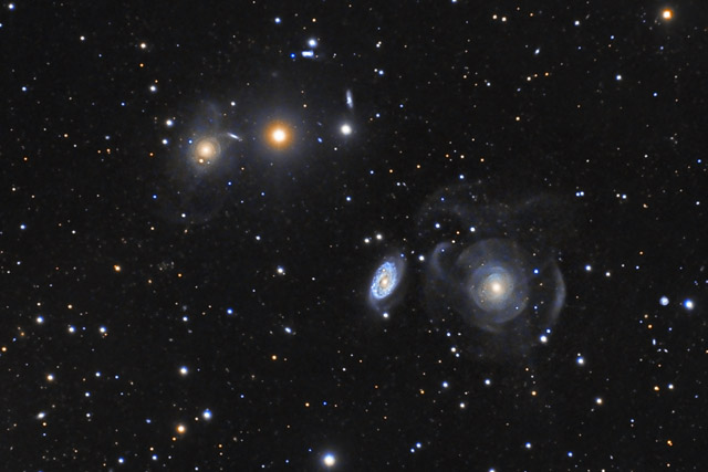 ARP 227 - Peculiar Galaxies in Pisces