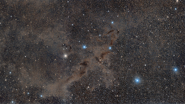 Barnard 228, the Dark Wolf Nebula in Lupus