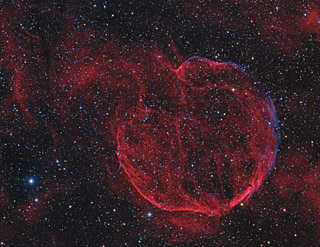 CTB1 (Abell 85) - A Supernova Remnant in Cassiopeia