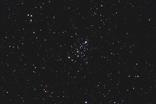 M103 - an Open Cluster in Cassiopeia