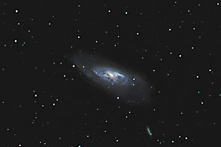 SUPERCEDED-NEWER VERSION AVAILABLE---M106 - Galaxy in Canes Venatici