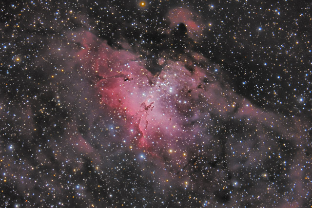 M16 - The Eagle Nebula in Serpens
