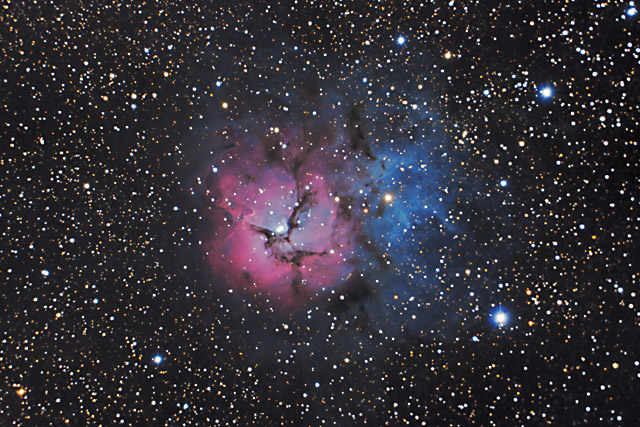 SUPERCEDED-NEWER VERSION AVAILABLE---M20 - The Trifid Nebula in Sagittarius