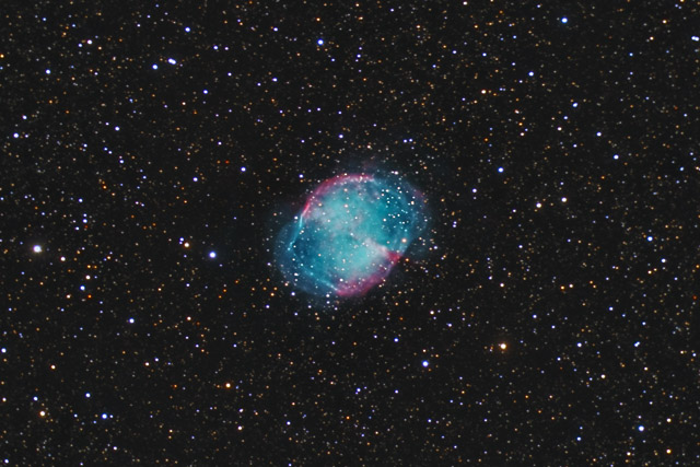 SUPERCEDED-NEWER VERSION AVAILABLE---M27 - the Dumbbell Nebula - October 2011 version