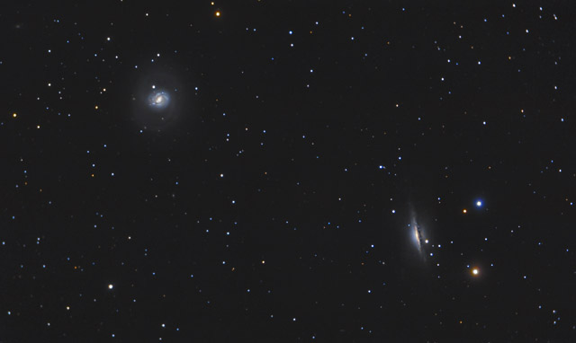 M77 and NGC 1055 - Galactic Neighbors
