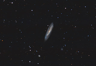 M98 - A Spiral Galaxy in Coma Berenices