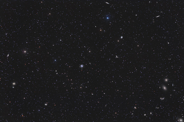 The Virgo Cluster of Galaxies (Widefield)