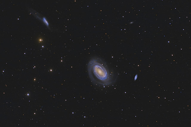 NGC 4725 - A One Armed Galaxy
