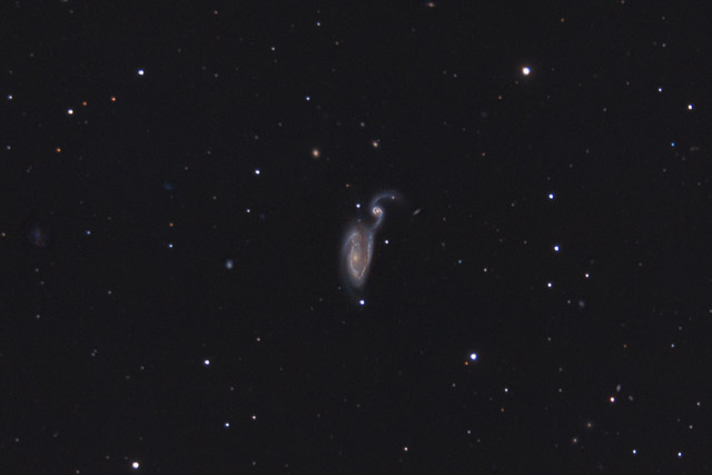 NGC 5395 and NGC 5394 - the Heron Galaxy