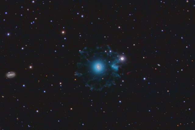 NGC 6543 - The Cat's Eye Nebula - Cropped Version