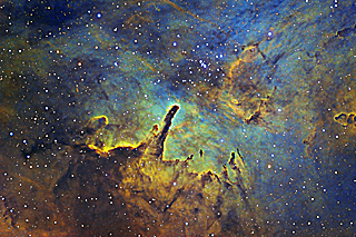 NGC 6820-A Star Forming Region in Vulpecula
