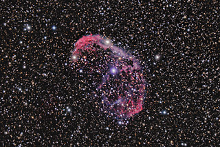 SUPERCEDED - NEWER VERSION AVAILABLE - NGC 6888 - The Crescent Nebula in Cygnus